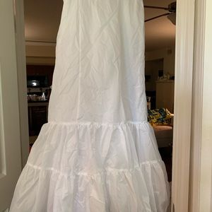 Bridal fit and flare slip NWT size 12